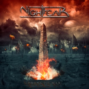 Nightfear - Drums of War - Cover